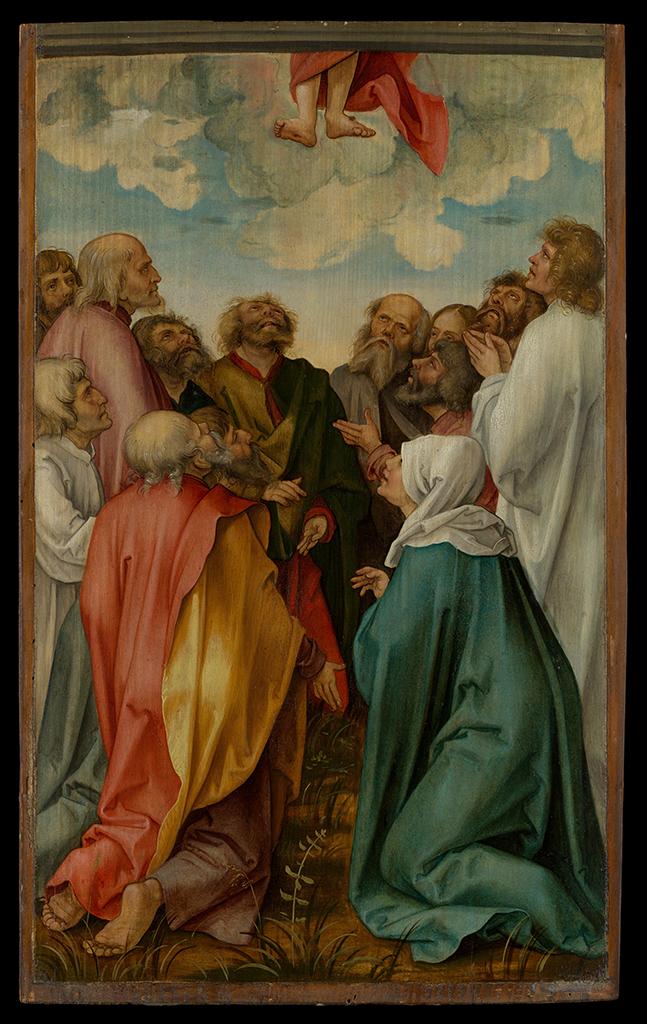 Ascensione di Cristo 1513 Hans Suss von Kulmbach