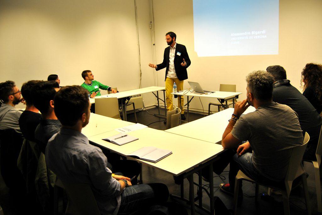 Alessandro Bigardi docente universitario e ricercatore storia dell'arte editoria graphic design