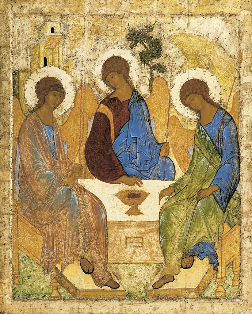 Andrej Rublëv Trinity 1420-1430