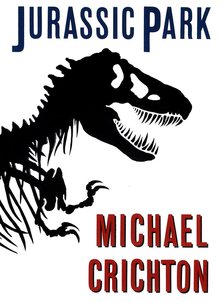 Jurassic Park 1990 Chip Kidd