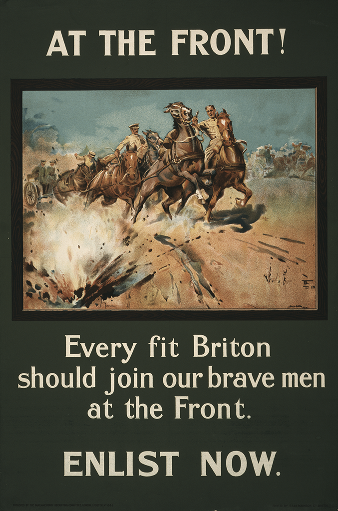 Manifesto At the front 1915