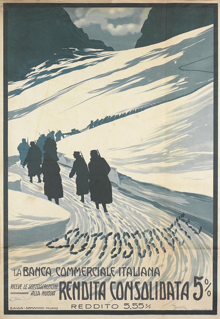 Manifesto Barchi Sottoscrivete 1916