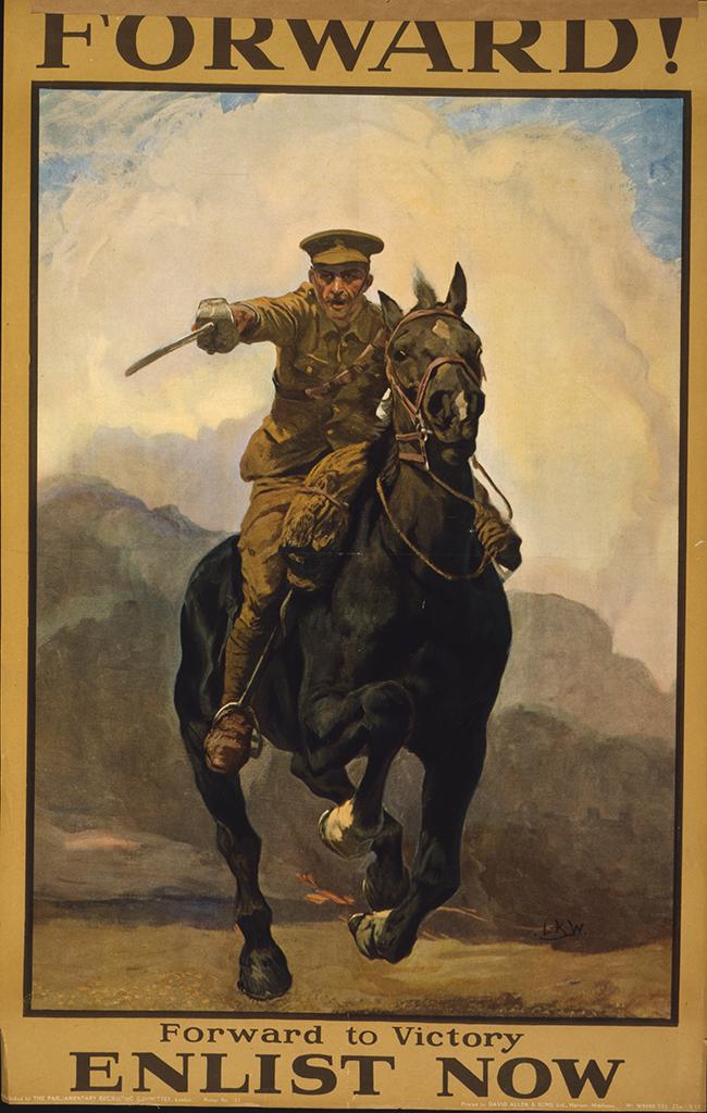 Manifesto Forward to Victory 1915