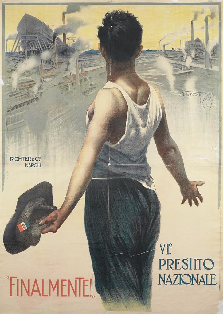 Manifesto Mario Borgoni Finalmente 1918