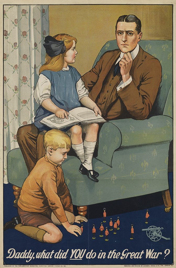Manifesto Savile Lumley Daddy what did YOU do in the Great War 1915
